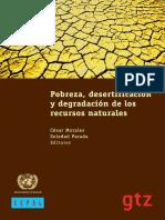 2005_Morales C. Prada,C_Pobreza, Desertificación y Degradación de Los Recursos Naturales