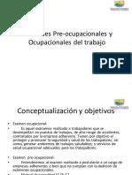 Exámenes Pre-ocupacionales y Ocupacionales Del Trabajo.pptx Salud Ocupacional