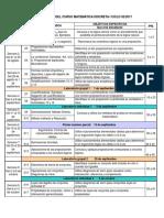 010142 - Matematica Discreta i - 01