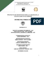 Proyecto Incentivos Para Laguna de La Cocha Como Sitio Ramsar