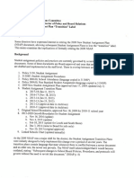 """Memo about ending the use of the word """"transition"""" in the Seattle Schools Student Assignment Plan, dated September 27,2017"""