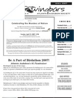 April 2007 Wingbars Newsletter Atlanta Audubon Society