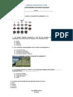 Cuestionario Estudios Sociales