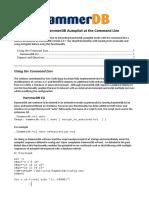 hammerdb_commandline