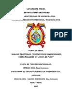TESIS Analisis Geomecanico y Propuestas de Cimentacion en La Bahía Del Lago