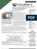December 2007 Wingbars Newsletter Atlanta Audubon Society