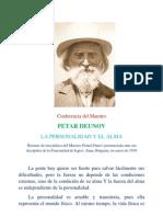 Peter Deunov-El Alma y La Personal Id Ad