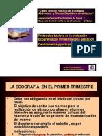 ULTRASONIDO EN EL PRIMER TRIMESTRE DE GESTACIÓN.ppt