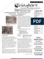 July-August 2008 Wingbars Newsletter Atlanta Audubon Society