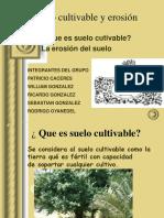 Suelo Cultivable y Erosion
