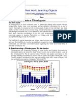 Excel Climatogram