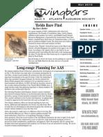 May 2010 Wingbars Newsletter Atlanta Audubon Society