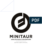 Minitaur Editor v3 2 Manual