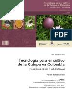 Tecnologiaparalaproducciondelcultivodelagulupa Purplepassionfruit P.edulisf.edulisSims 2012