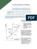 Diagrama de Fases Para Sistemas de Un Componente