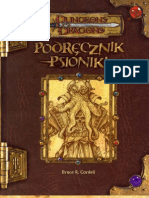 D&D 3ed Podręcznik Psioniki