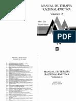 Ellis Manual de Terapia Racional Emotiva. Vol. II (1)