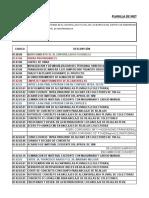 Huaraz Planilla de Metrado de Mantenimiento Modificado