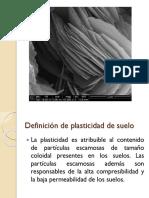 Plasticidad de Suelos