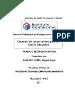Proyecto Web Centro Educativo.desbloqueado