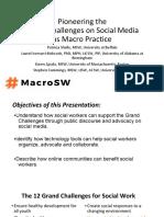 2017 CSWE Pioneering the Grand Challenges Macro Practice