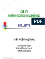 CVE471 Lecture Notes 4 - Spillways.pdf