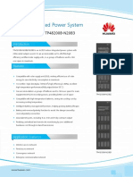 HUAWEI TP48200B-N20B2 TP48200B-N20B3 Indoor Integrated Power System Datasheet