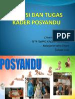 Materi Refreshing Kader Posyandu