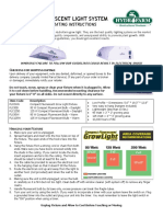 5194_Compact Fluorescent Light System Instructions