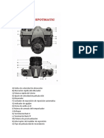 Manual Camara Asahi Pentax en español