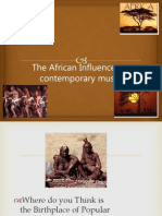 The African Influence on Contemporary Music