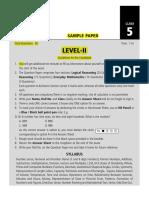 SOF Level 2 IMO Class 5