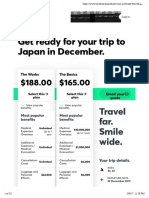Travel Insurance Direct - Quote - Japan
