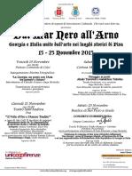 Dal Mar Nero all'Arno - Prima edizione
