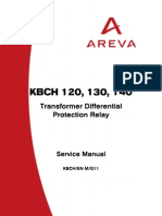 KBCH 120, 130, 140 Transformer Dirrerential Relay Service Manual