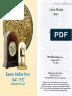 Gustav Becker Story 1847-1927 История Часов Густав Беккер