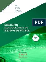Especialista Universitario en Dirección Metodológica en Equipos de Fútbol