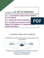 TEMA_3_objetivos de La Empresa