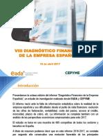 VIII Diagnóstico Financiero de La Empresa Española 2017