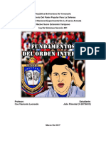 Fundamentos Del Orden Interno