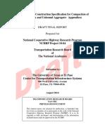 NCHRP10-84 FR Appendices