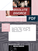 Divorce Report