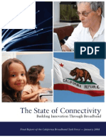 California Broadband Task Force Final Report Jan 2008