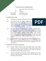 Rpp Bab 1 Sifat Koligatif Larutan