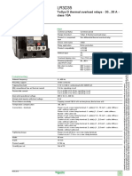 TeSys D Thermal Overload Relays LR3D35