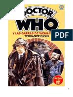 Doctor Who - Y Las Garras de Weng-Chiang