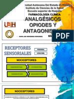 Analgésicos Opiodes y Antagonistas
