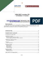ADO .NET (Version C#)