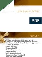 Luka Bakar Listrik