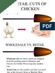 Cuts of Chicken